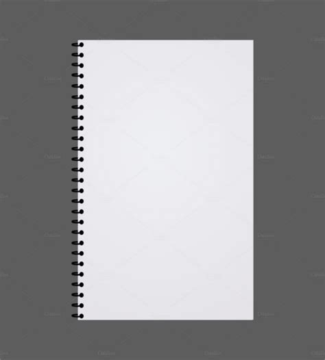 notebook paper templates  sample  format