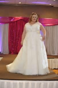 wedding dresses for a wedding torrance bridal show plus size wedding gowns on the runway strut bridal salon