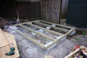 Concrete Block Shed Foundation Leveling