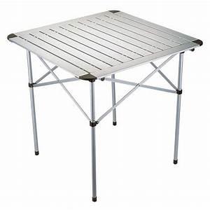 Table De Camping Leclerc : table mobilier camping table camping aluminium mat 70 cm ~ Dailycaller-alerts.com Idées de Décoration