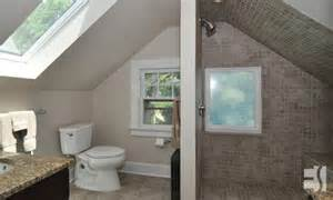 bathroom design ideas walk in shower attic renovation escott architects llc