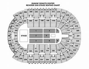 Providence Bruins Seating Chart Seating Chart Dunkin Donuts Center