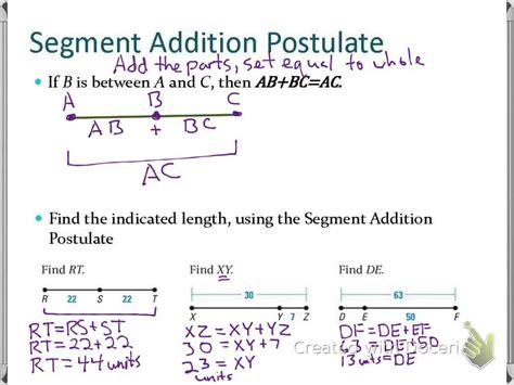 Sec 12 Use Segments And Congruence Youtube