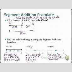 Sec 12 Use Segments And Congruence Youtube