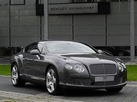 File:Bentley Continental GT (II) – Frontansicht (1), 30 ...