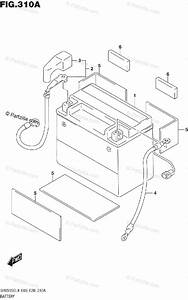 Suzuki Motorcycle 2019 Oem Parts Diagram For Battery