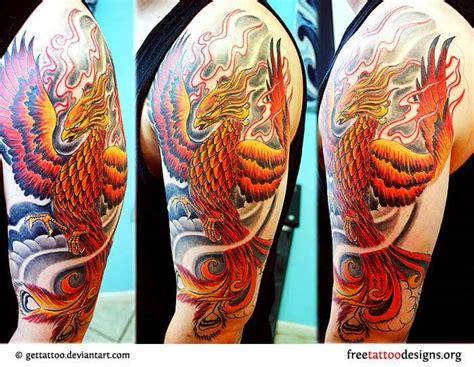 phoenix tattoo designs  men outsons