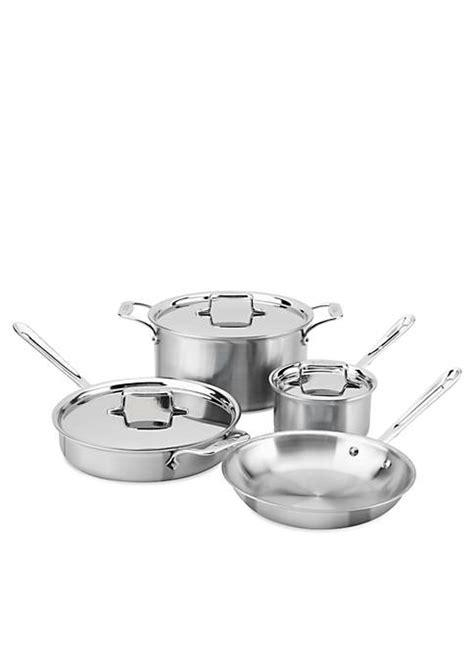 cookware stainless steel  stick  belk