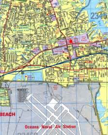 Virginia Beach City Map