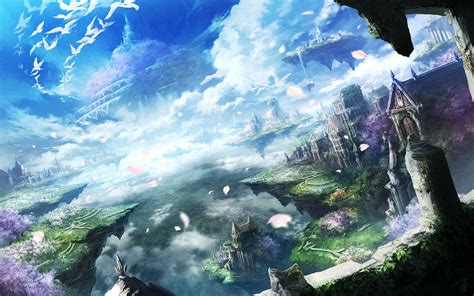 Beautiful Anime Scenery Wallpaper - beautiful anime wallpaper 68 images