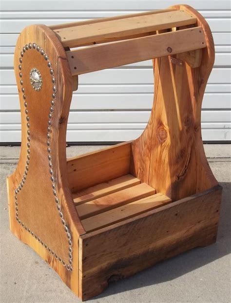 saddle rack stand saplans wooden saddle rack plans