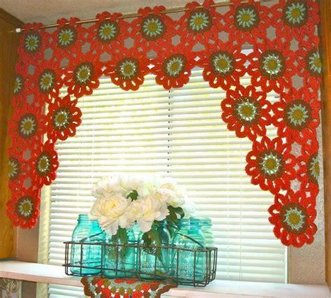 merveilleux rideaux au crochet crochet et plus crochet