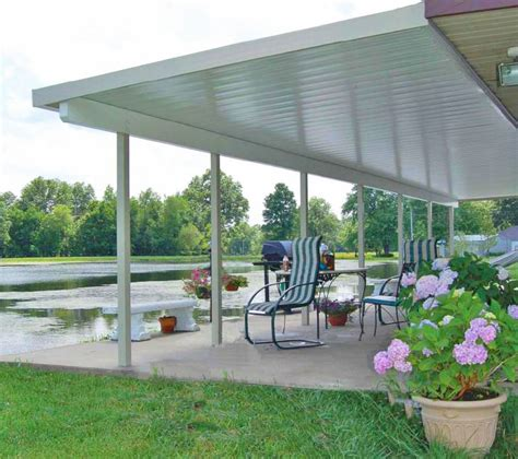 aluminum patio roof panels teton patio cover with flat roof panels