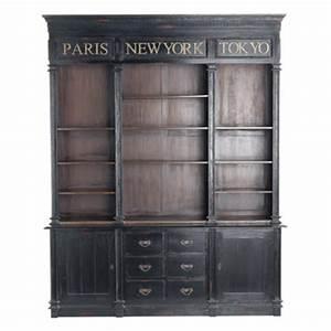 Maison Du Monde Bibliotheque : 60 meubles et objets d co de secret story o les acheter biblioth que haussmann maisons ~ Teatrodelosmanantiales.com Idées de Décoration