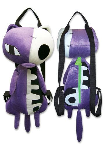 YesAnime.com   Panty & Stocking Hollow Kitty Plush Bag