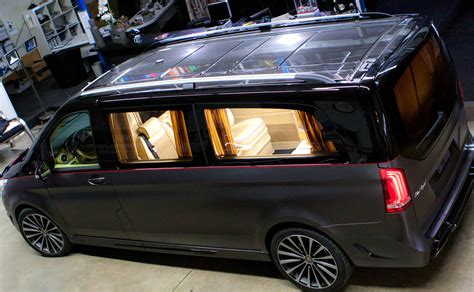 Mercedes V Class Hd Picture by Larte Design Reveals The Exterior Of Mercedes V Class