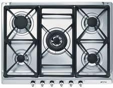 Plaque De Cuisson Gaz Smeg : plaque de cuisson inox livraison gratuite ubaldi ~ Melissatoandfro.com Idées de Décoration