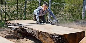 Logosol Big Mill chainsaw sawmill system - Davies Implements