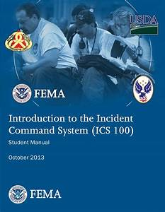 Introduction To Incident Command System  Ics