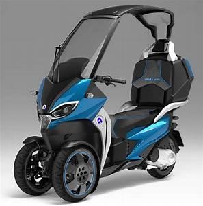 Scooter 3 Roues 125 : adiva relooking de gamme et prototype ad1 scooters vehicle and reverse trike ~ Medecine-chirurgie-esthetiques.com Avis de Voitures