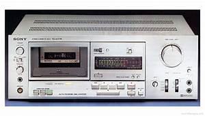 Sony Tc-k77r - Manual - Stereo Cassette Deck