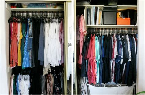 Easy Closet Organization For Small Space Closets