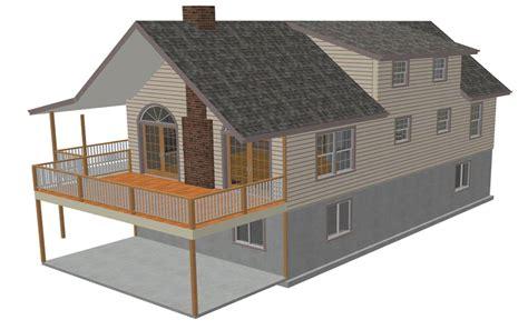 custom plans 136 45 x 23 hillside cabin plans blueprints construction drawings sds plans