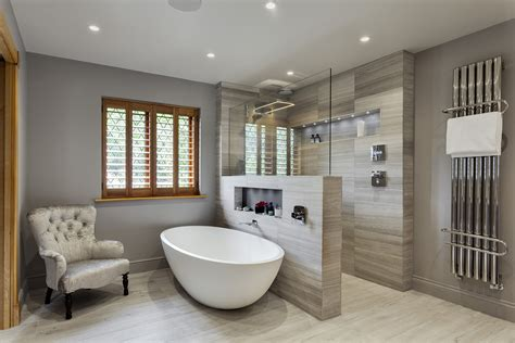 Stunning Master Wetroom With Walk-through Dressing Room