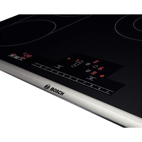 "NET8666SUC   Bosch 800 Series 36"" 5 Burner Electric Cooktop"