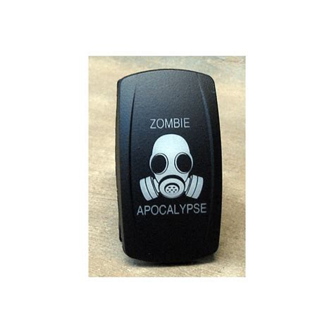 Zombie Apocalypse Lights Dual Led Lighted Rocker Switch