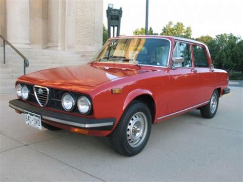 Alfa Romeo Berlina For Sale by 1974 Alfa Romeo 2000 Berlina Bring A Trailer