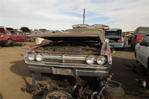Junkyard Find 1964 Oldsmobile Ninetyeight Luxury Sedan