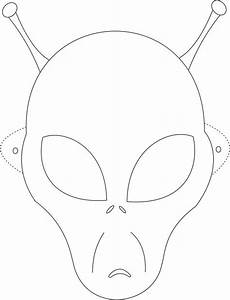 alien mask printable coloring page for kids kids crafts With halloween face mask templates