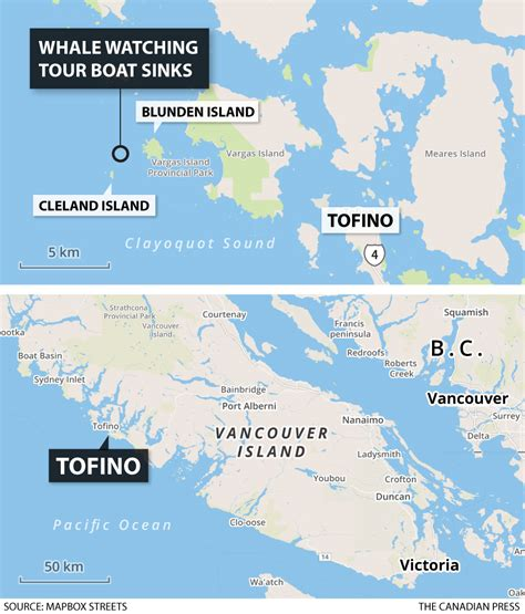 Boat Sinking Vancouver 5 dead 1 missing after whale vessel sinks