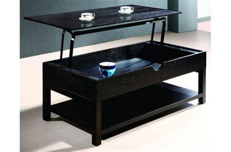 table basse weng 233 avec plateau relevable table basse pas