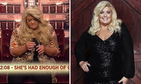 celebrity big brother gemma collins hints that she will