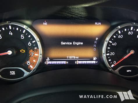 service engine light on jeep renegade service engine light on no 4wd