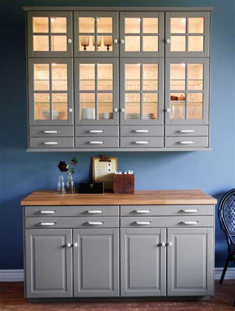 element armoire cuisine élément mural avec portes vitrées éclairage d 39 armoire et