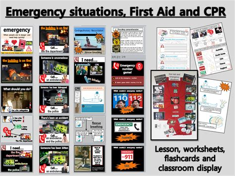 emergency situations cpr and aid whole lesson