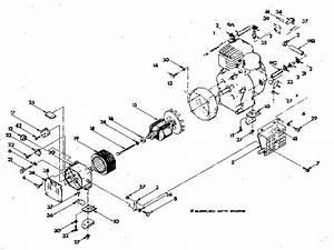 Craftsman Model 580327040 Generator Genuine Parts