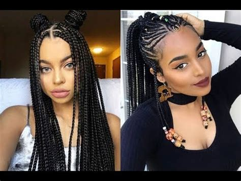 Black Hairstyles Braids by Braids Hairstyles Ideas For Black 2018