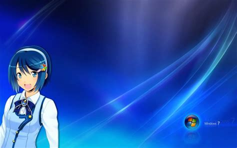 Anime Wallpaper Windows 7 - windows 7 anime madobe nanami wallpaper anime