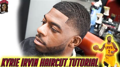 barber tutorial kyrie irving haircut hd youtube