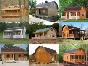Amish gambrel homes for Amish home construction