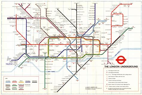 london underground map pictures