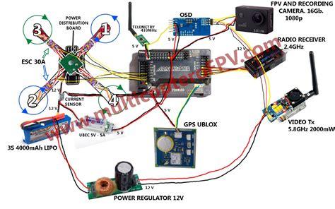 Plano De Conexiones De Arducopter Apm 2.6 Con Gps
