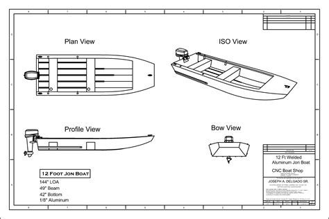 jon boat plan       boat plans