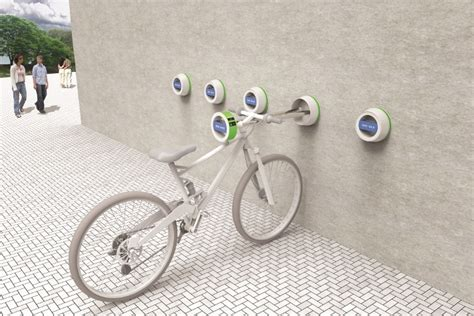 halla wall hanger outdoor bike mount