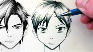 How to Draw Anime Face Front View