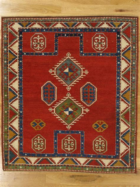 fachralo prayer kazak rug from southwest caucasus age